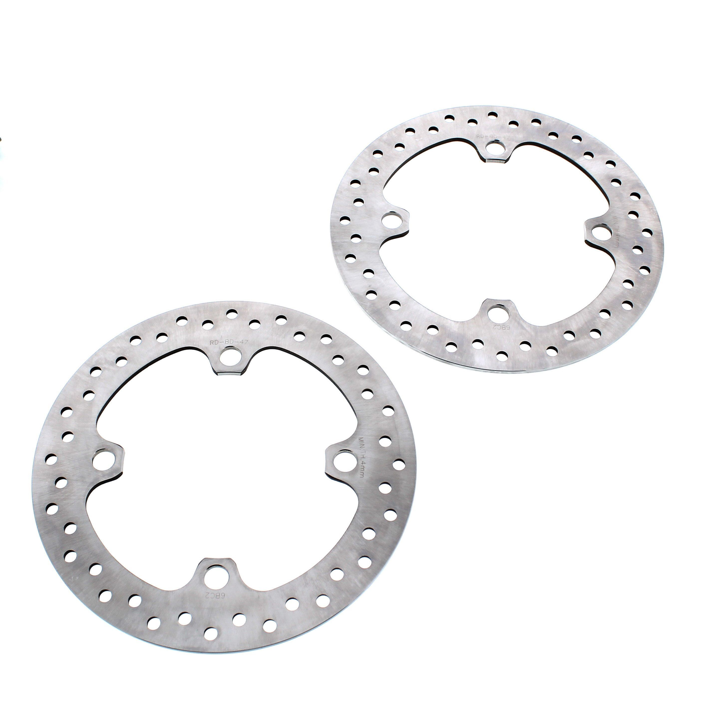 2016 2017 Polaris 1000 RZR XP 4 EPS High Lifter Rear Standard Brake Rotors Discs