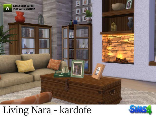 Sims 4 CC's - The Best: Nara Living Set by Kardofe