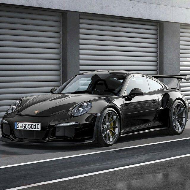 Beautiful black 991 GT3RS