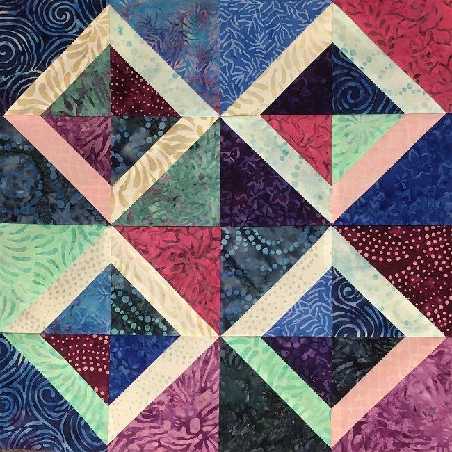 Fast Free Mini Quilt Pattern For Charm Squares Charm Pack Mini