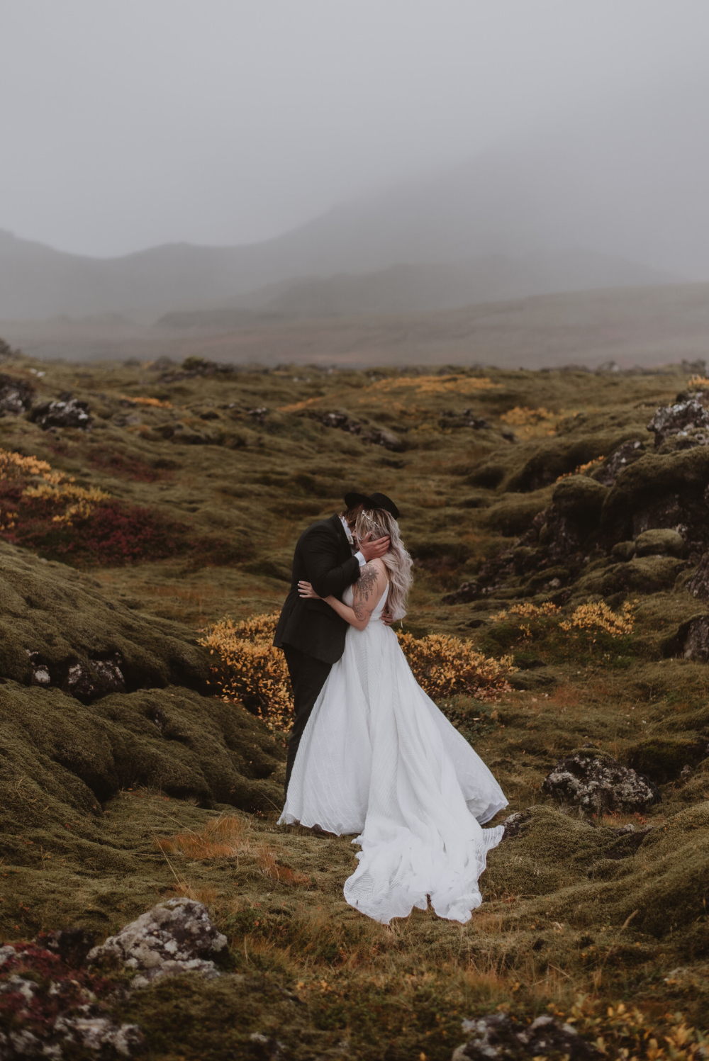 Intimate Iceland Elopement Kaylie Sirek Wyoming Wedding Elopement Photographer Sheridan Buffalo Jackson Hole Billings Bozeman Wyoming Weddings Elopement Photographer Elopement