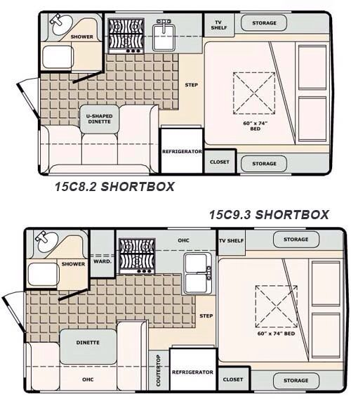Small Camper Layouts Travel Trailer Floor Plans Rv Floor Plans Camper Flooring