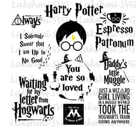 Download Harry Potter svg files Harry Potter svg you are so loved ...