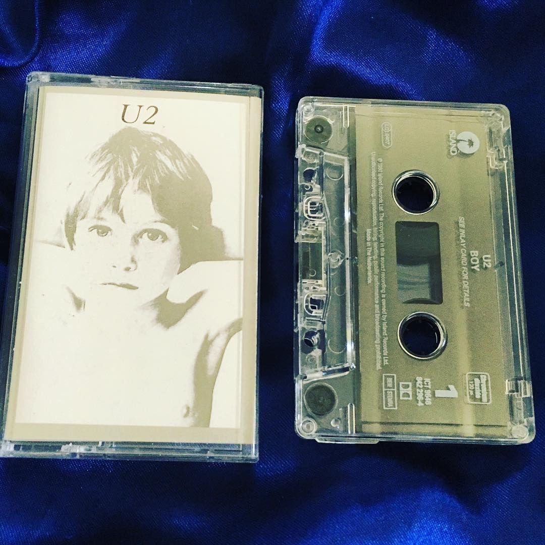 U2 Boy cassette (1986 Island records Netherlands
