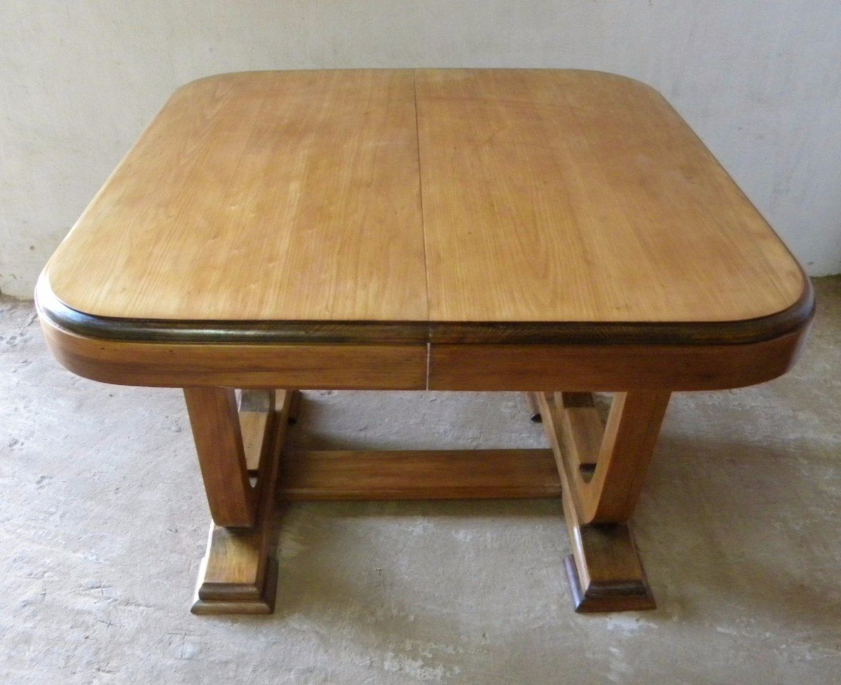 antigua mesa de comedor estilo art deco. excelente estado. | mesas ...
