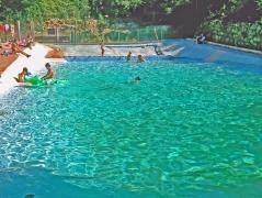 camping en pleine nature avec piscine naturelle en pyrnes escaro pyrenees orientales