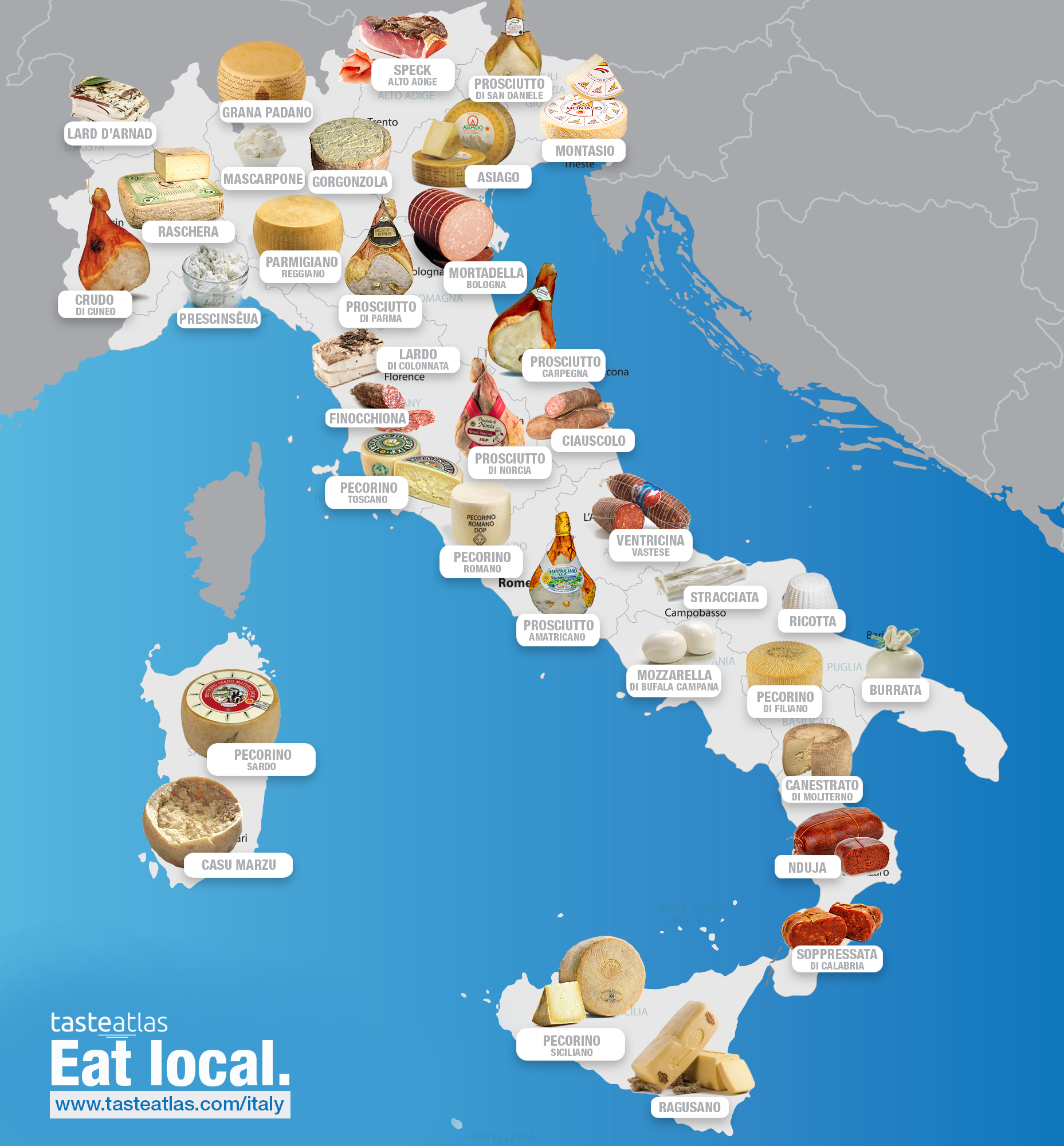 Canal Porno Italiano what and where to eat in the world in 2020 | italy map, map