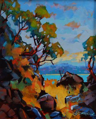 Brian Buckrell's, Colour of Gabriola