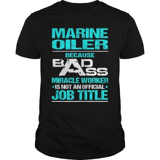 MARINE OILER T Shirts, Hoodies, Sweatshirts. CHECK PRICE ==► https://www.sunfrog.com/LifeStyle/MARINE-OILER-116169422-Black-Guys.html?41382