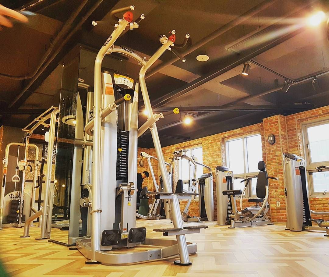 Check this gym out in sejong south korea hoist fitness