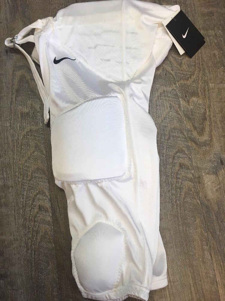 Boys xxl 2xl nike recruit 20 white football pants nwt