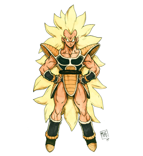 Ssj Raditz On Behance Saiyan Ocs Pinterest Dragon Ball Dbz