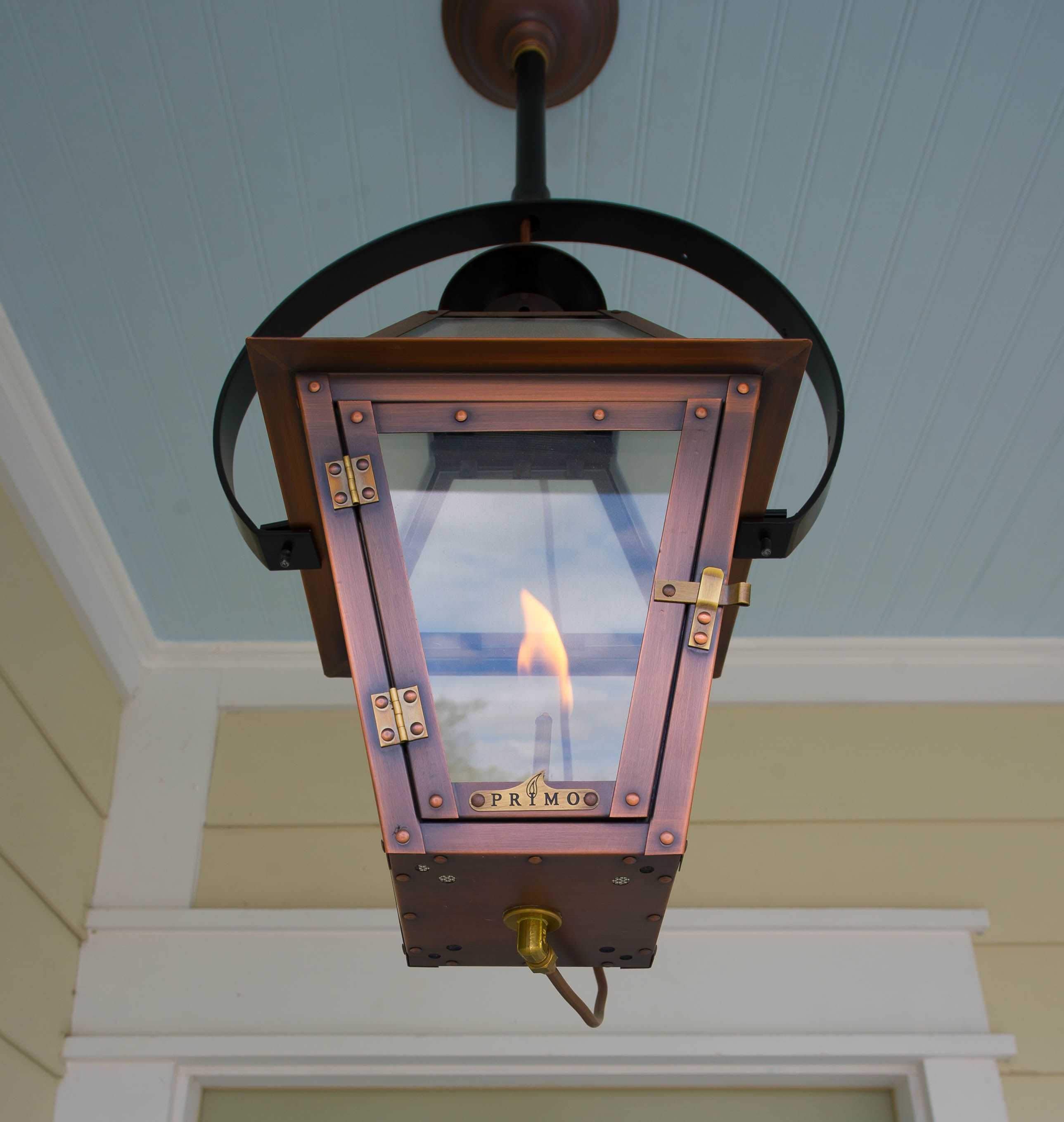 Front porch gas light for the home pinterest for Front porch lights fixtures