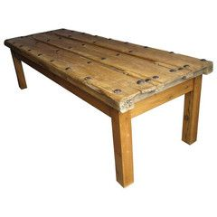 Antique Spanish Door Coffee Table - Chairish