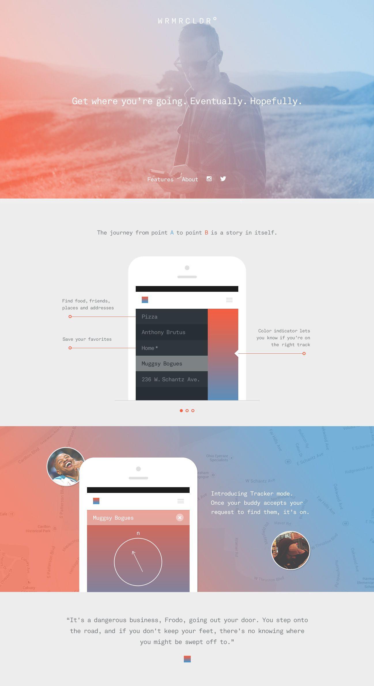 Marketing Homepage ウェブデザイン デザイン Webデザイン