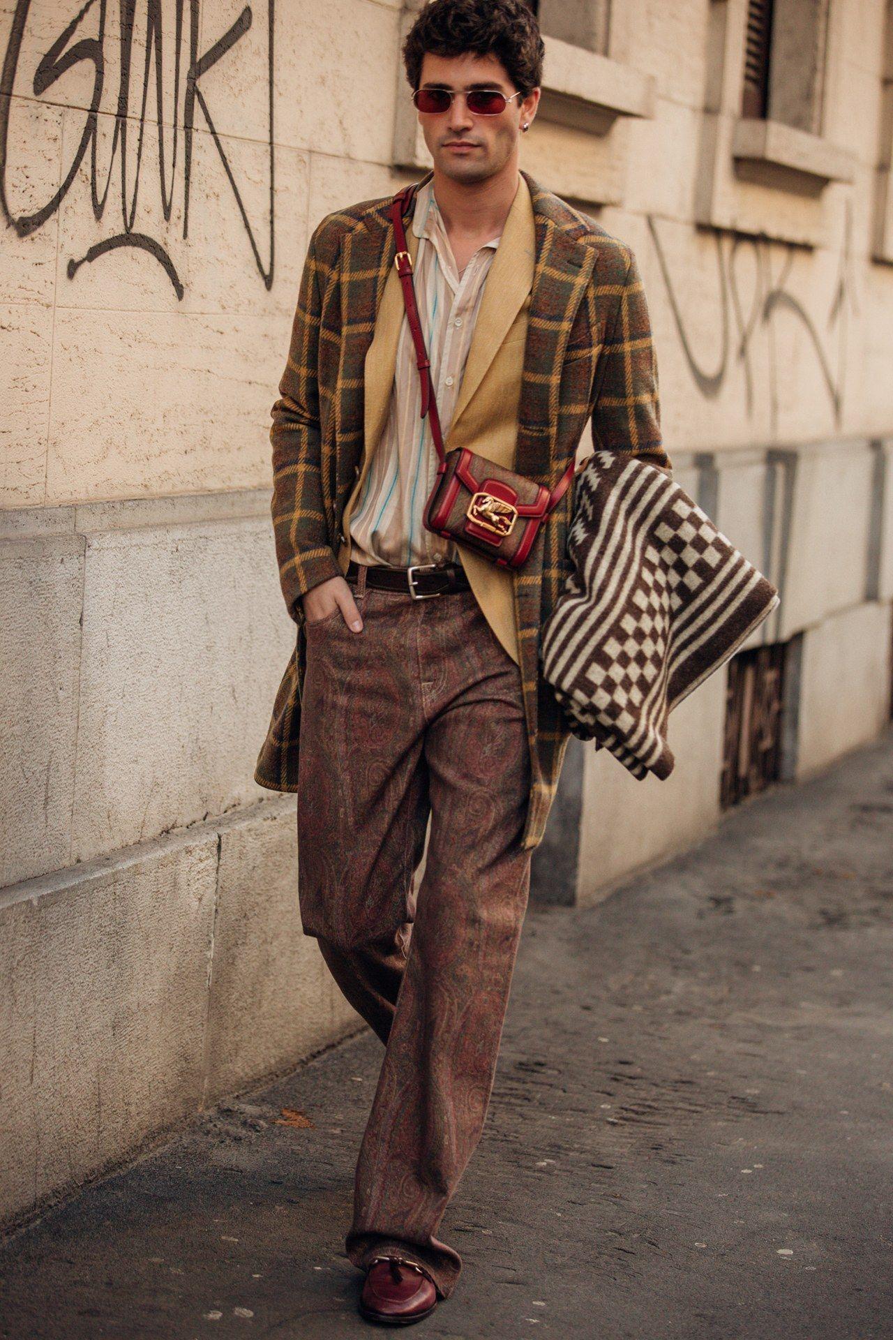 Street style, i look dalla Milano Fashion Week Men's AI 20 20 ...