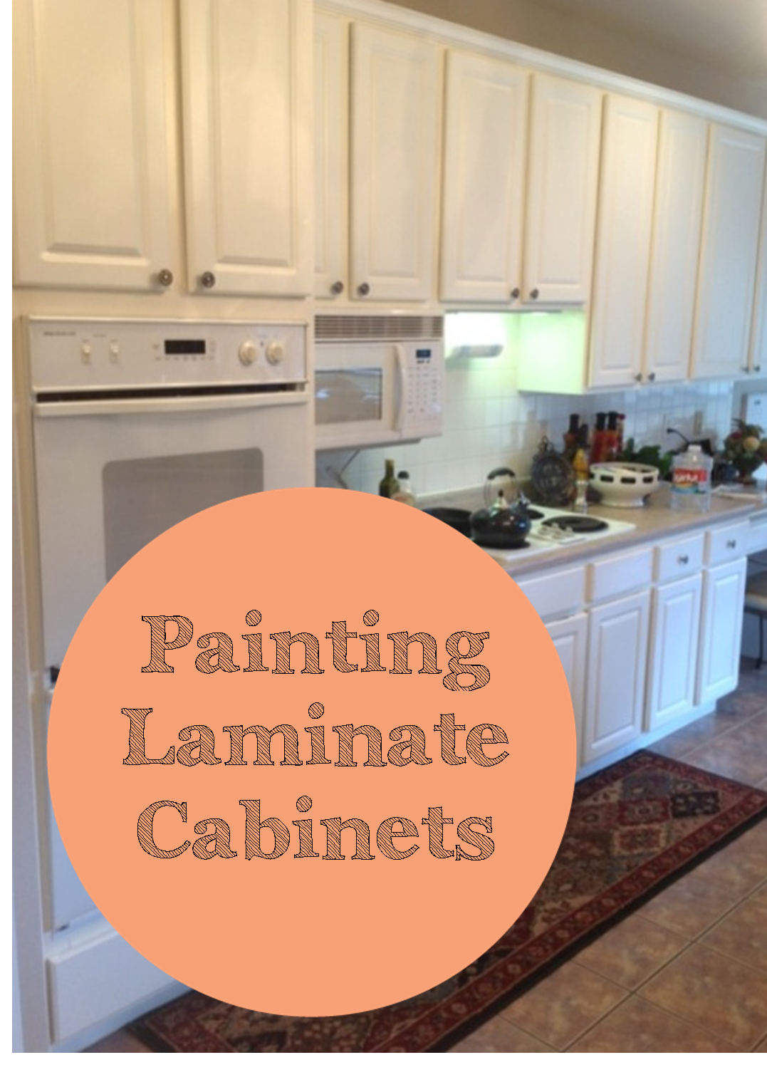 Laminated Cabinets If You Have Laminated Cabinets You Know It And I M Sure You Kno Laminate Kitchen Cabinets Laminate Cabinets Painting Laminate Cabinets
