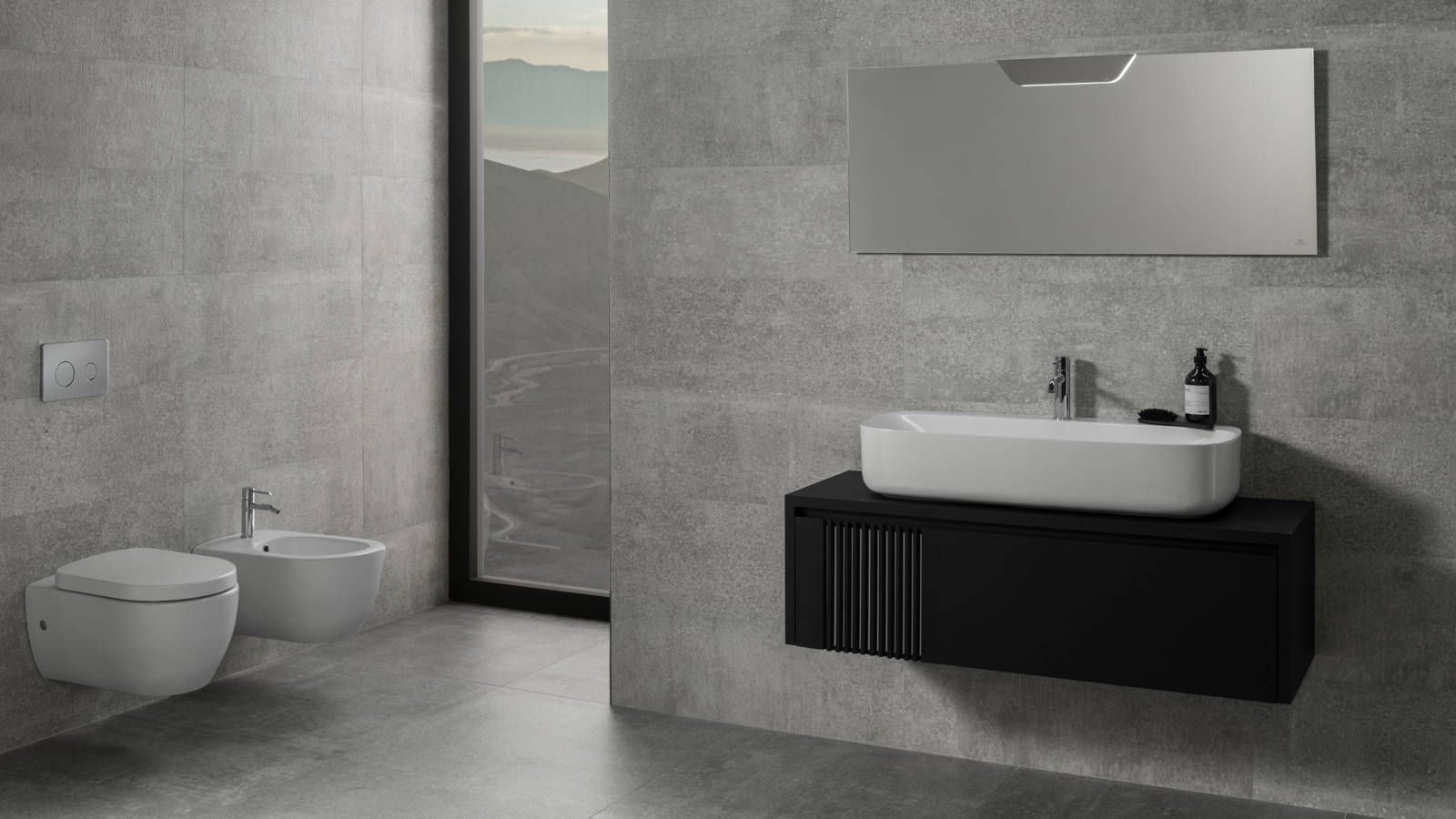 Mobilier De Salle De Bain Meubles De Salle De Bain Porcelanosa Bathroom Furniture Bathroom Toilet