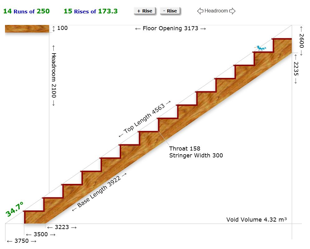 Staircase calculator | For the Home | Pinterest ...