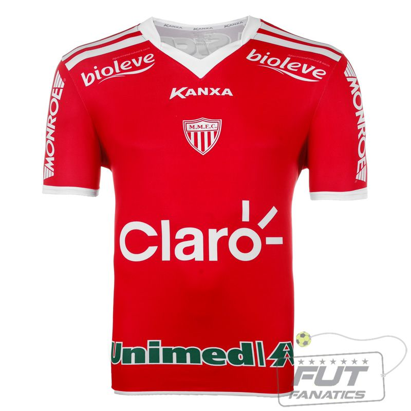 Camisa Kanxa Mogi Mirim I 2014 - Fut Fanatics - Compre Camisas de Futebol  Originais Dos b19f462b4ff52