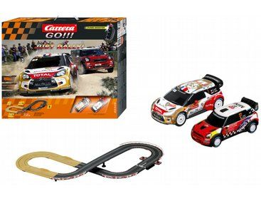 The Carrera Go!!! Just Rally! Set, is a 1/43 scale high quality slot