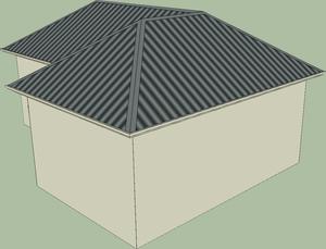 Cross Hip Type Roof