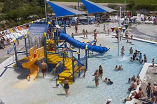 H2o Brien Pool Parker Parks And Recreation Water Park Parks And Recreation Water Slides