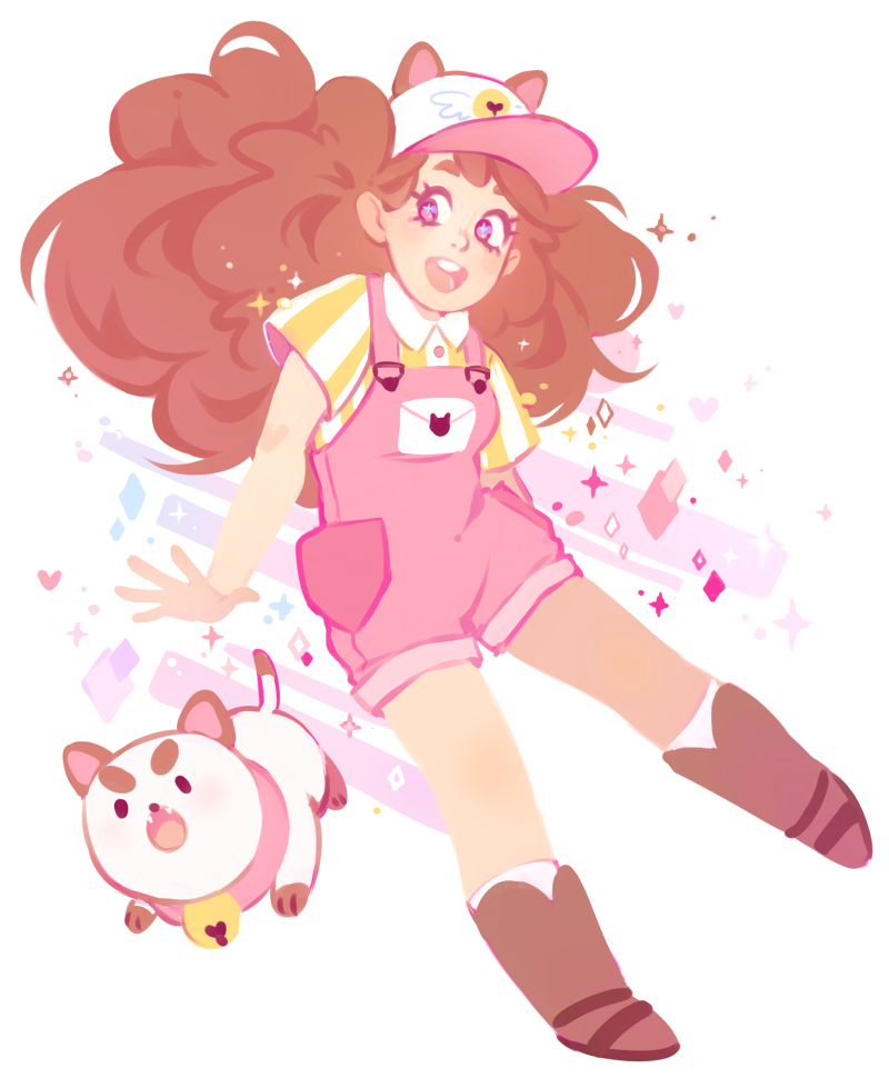 "starpatches: "" I love bee and puppycat!! """