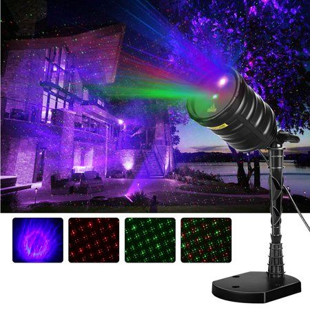 Suaoki Laser Light Blue Aurora Borealis Projector Red/Green Star