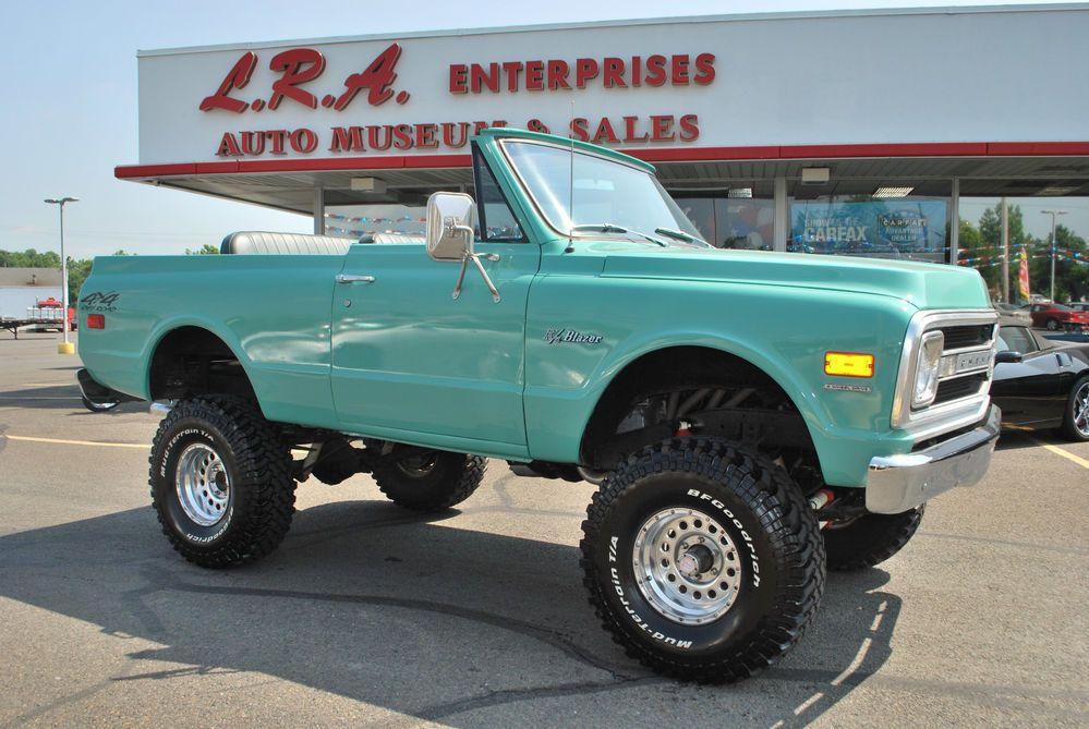 1969 Chevrolet Blazer Chevy Trucks Chevrolet Blazer Trucks