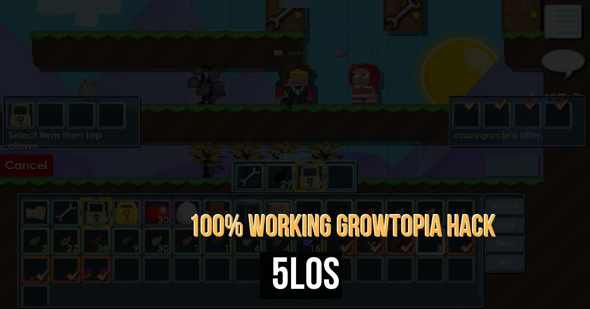 As an adventure game, Growtopia takes a lot of Gems. Here