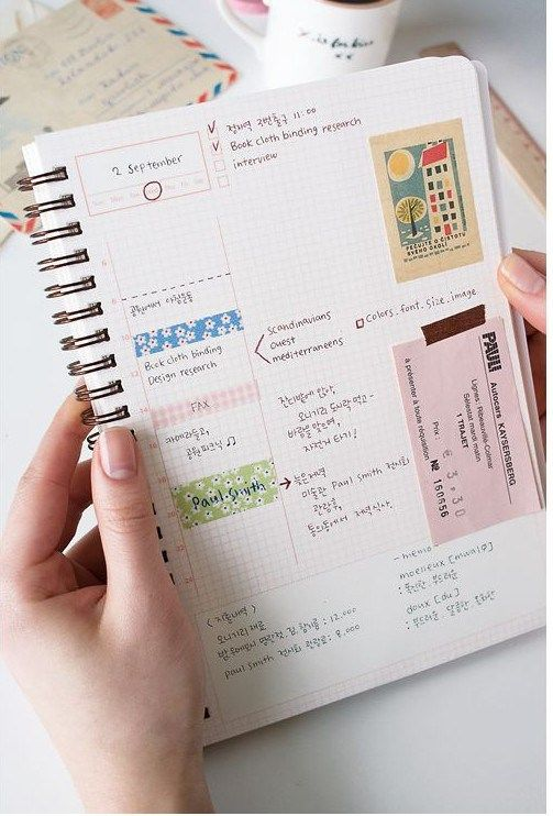 la-agenda-perfecta-12 Craft supplies Pinterest Bullet - layout of an agenda