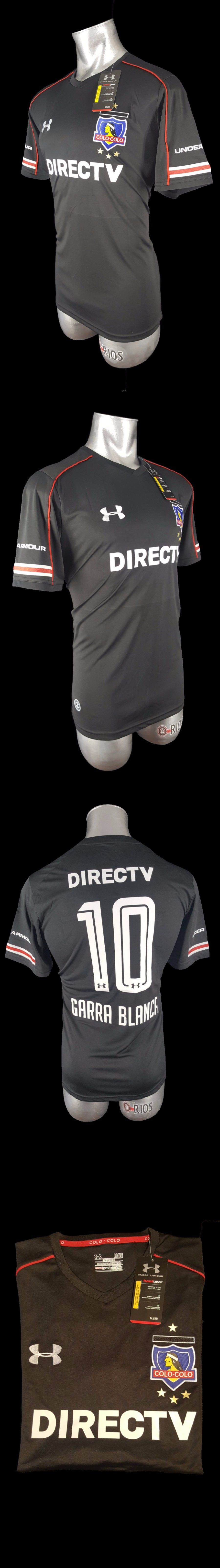 Men 123490  New Club Colo Colo De Chile Home Away Jersey - Garra Blanca  10  -  BUY IT NOW ONLY   49 on eBay! 5fdcd57d31a4e