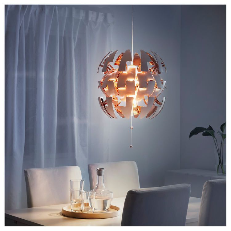 Lampadario Ikea Ps 2019.Ikea Ps 2014 Pendant Lamp White Copper Colour Ikea Dream Home