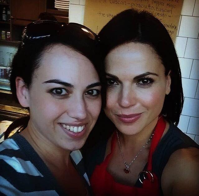 Lana Parrilla at @tavolinobistro 05 September 2015