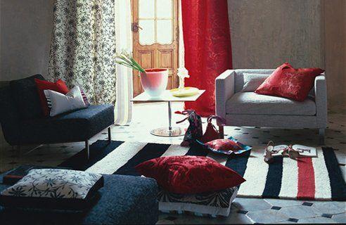 Design Guild Homes | 15 Red Living Room Design Ideas   Channel4   4Homes