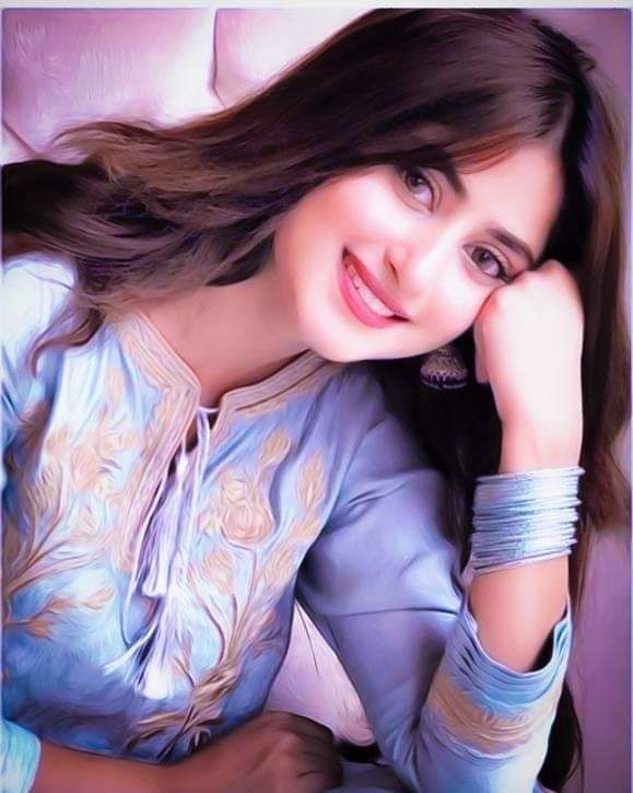 Beautiful Pakistani Actress Sajal Ali HD Wallpaper