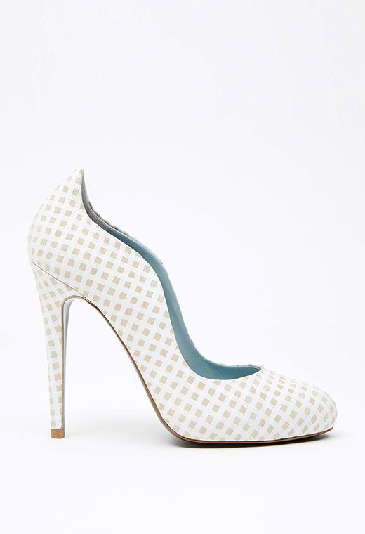Mona Vichy Blanc | Vichy, Covet fashion, Shoes