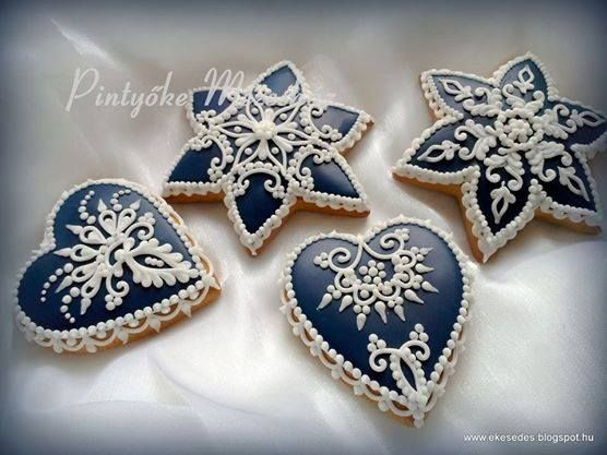 Maide Muller Hungarian decorated cookies.