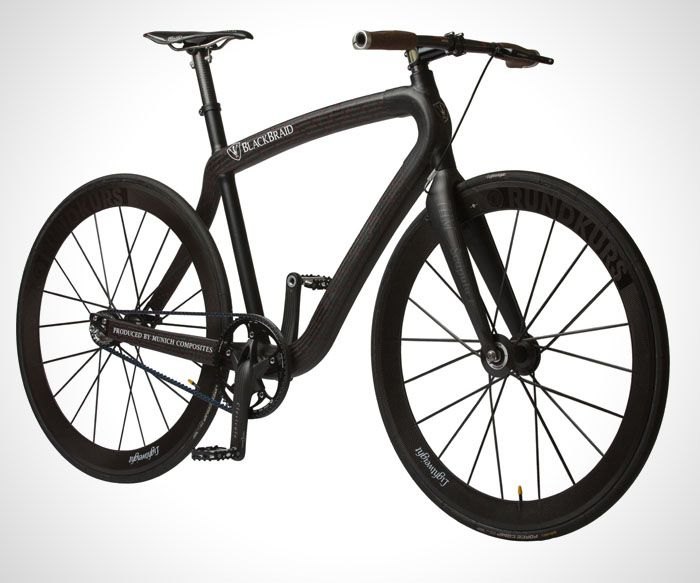 Blackbraid Bicycle Pg Bikes And Munich Composites Collaborate