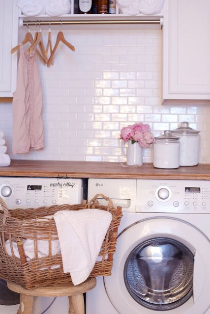 Under 500 Laundry Room Renovation Reveal French Country Cottage Vintage Laundry Room Decor Laundry Room Renovation Vintage Laundry Room