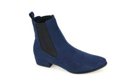Sztyblety Botki Granatowe Tamaris R 37 25303 27 Chelsea Boots Boots Ankle Boot