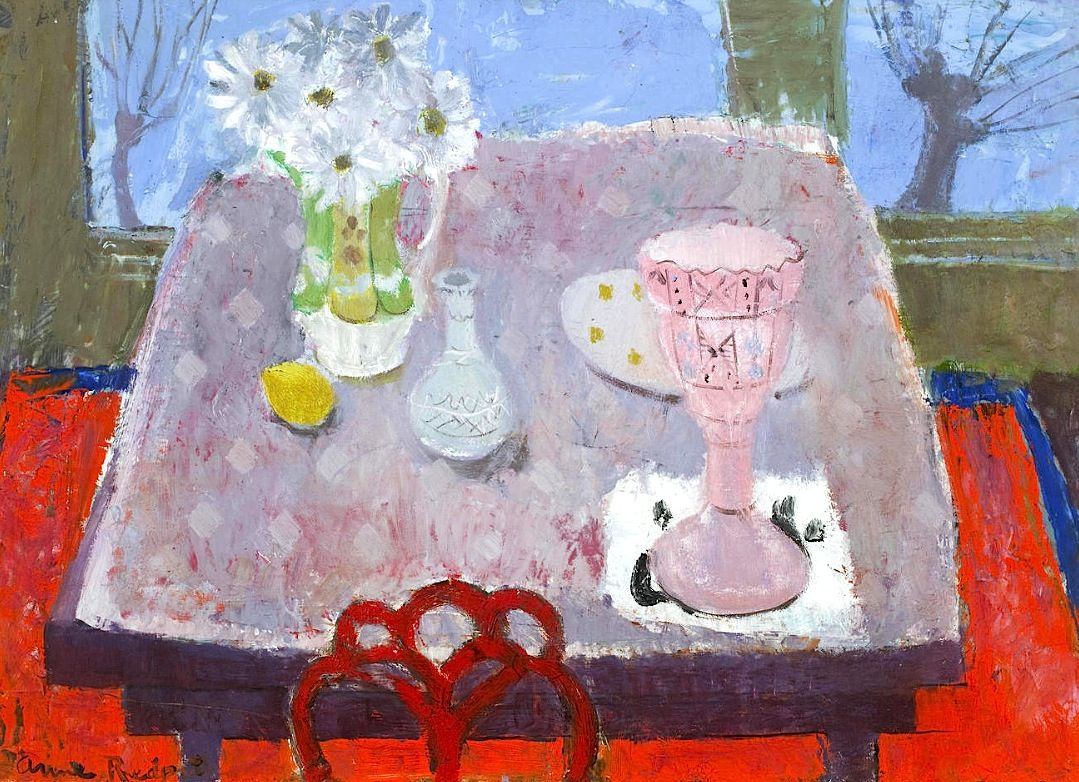 The Victorian Vase - Anne Redpath