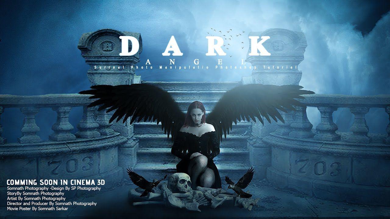 Poster design in photoshop - Make Movie Poster Design Photoshop Manipulation Tutorial Dark Angel