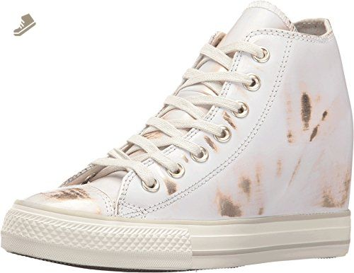 Converse Chuck Taylor All Star Lux Mid Buff Light Gold Buff (WS) (5 B(M)  US) - Converse chucks for women ( Amazon Partner-Link) e75dd6e0b