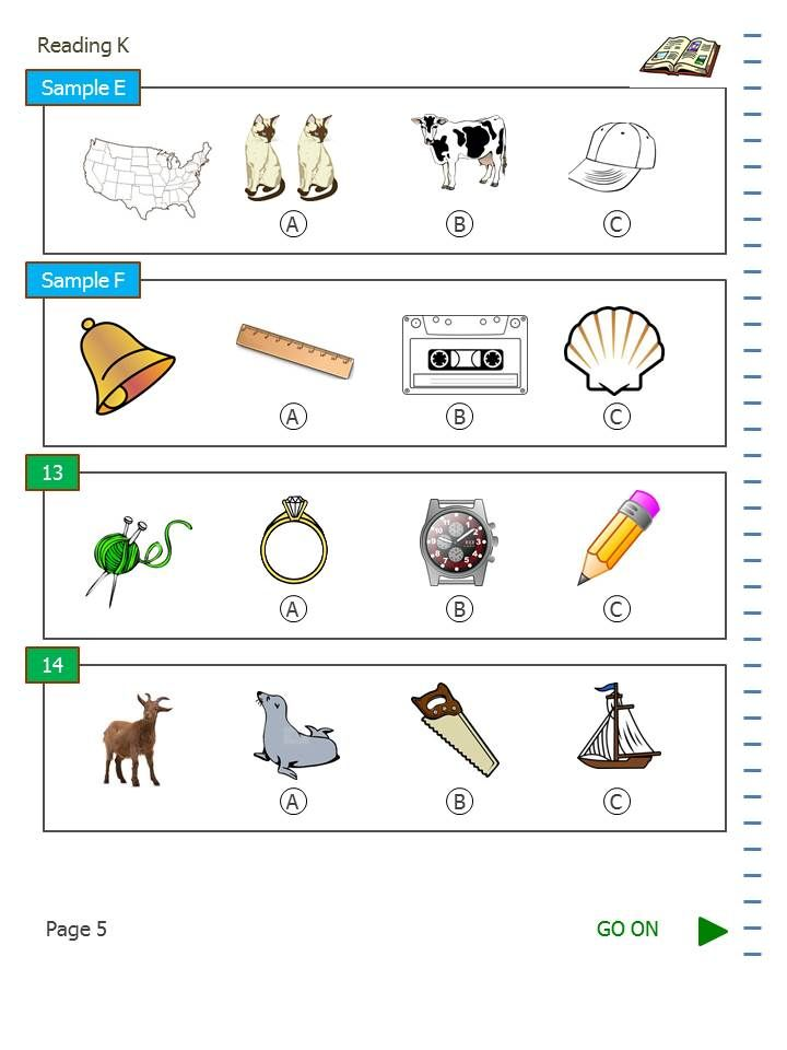 Here\'s a sample page of the SAT-10 practice test in math for ...