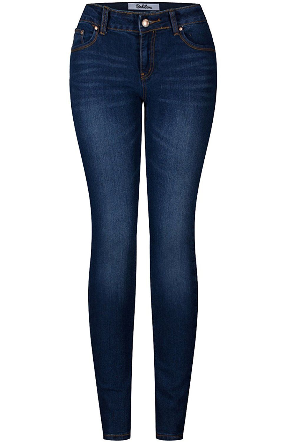 78b3fa49daed 2LUV Women s 5 Pocket Ankle Stretch Skinny Jeans