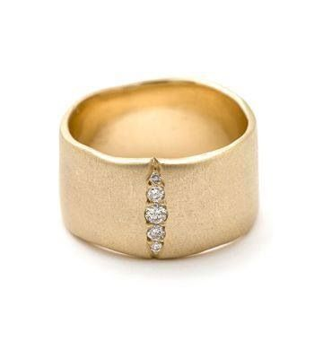 This is cool nice and chunky ring styles pinterest nice this is cool nice and chunky gold wedding bandswide junglespirit Images