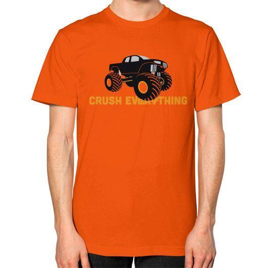 Crush Everything Unisex T-Shirt (on man)