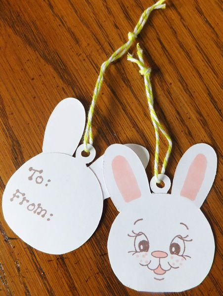 Super easy easter gift tags gift tags pinterest easter super easy easter gift tags negle Gallery